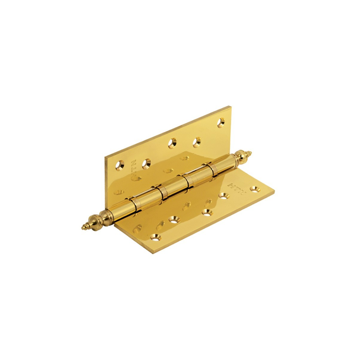 Brass flat hinge (crown head)