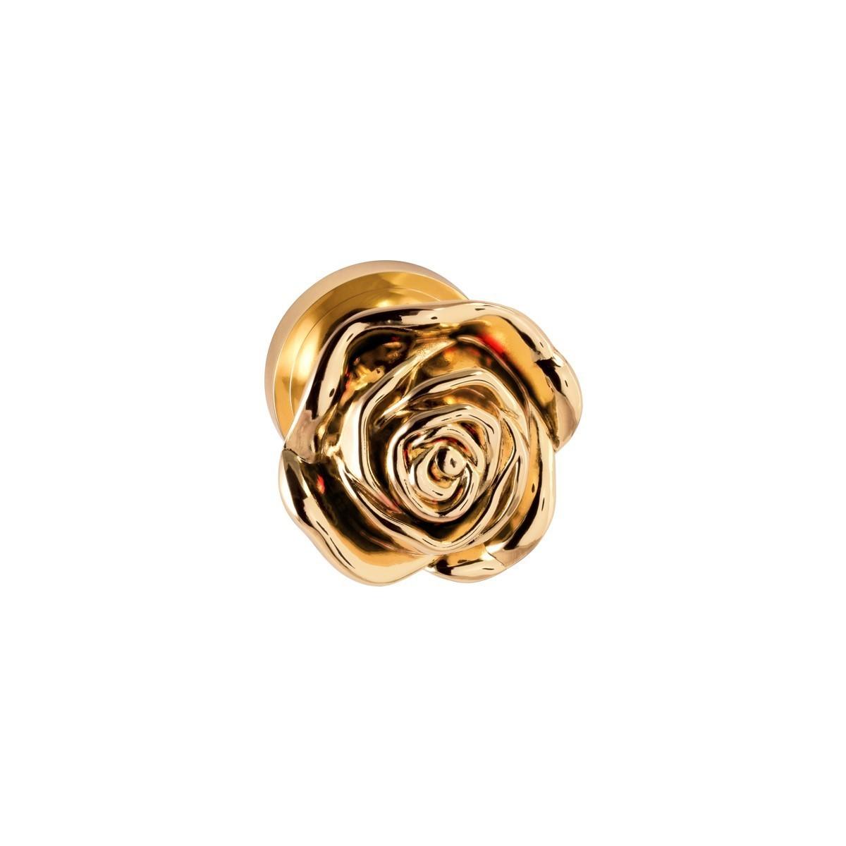 دستگیره درب با طرح گل رز